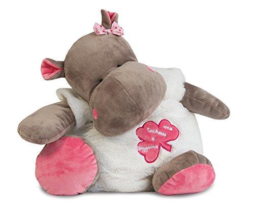 Baby nat' Range Pyjama Zoé l'Hippo Rose BABY NAT' BN087