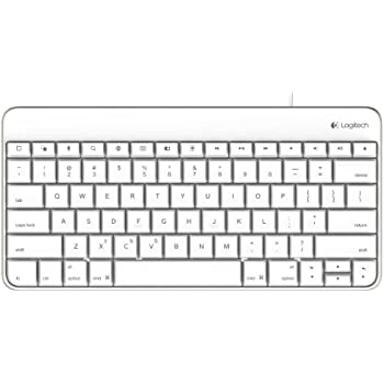 Logitech Wired Keyboard for IPad with 30-Pin Connector - for iPad 1, 2, iPad (3rd Generation)
