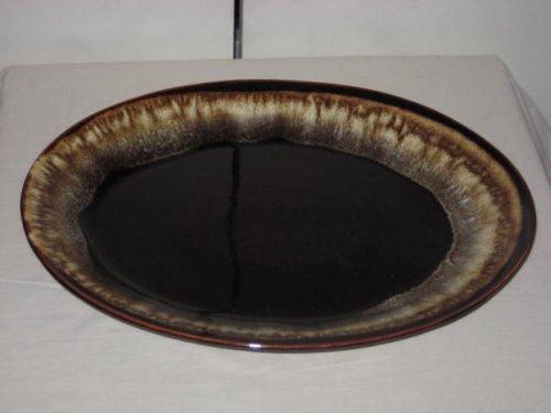 Pflatzgraff Brown Drip Platter 14 Inches