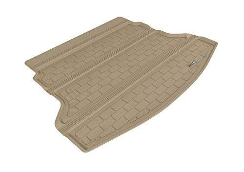 3D MAXpider Cargo Custom Fit All-Weather Floor Mat for Select Honda CR-V Models – Kagu Rubber (Tan)