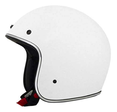 AFX FX-76 Solid White Mens Motorcycle Helmets - X-Small