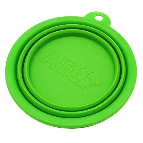 Alfie Pet by Petoga Couture - Ros Silicone Pet Expandable/Collapsible Travel Bowl - Size: 1.5 Cups, Color: - Lakeside Free Shipping