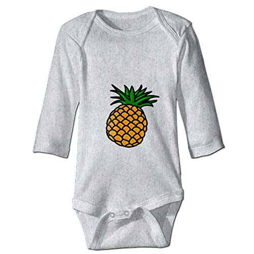 (YSKHDBC Pineapple Clipart Transparent Printed Personalized Infant Bodysuit One-Piece)