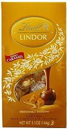 Lindt Choc Lindor Caramel Bag