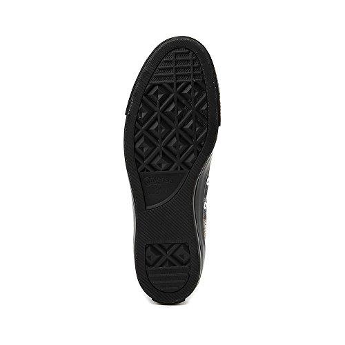 Converse Unisex-Erwachsene CTAS Hi White/Black Hohe Sneaker Schwarz (Black/White/Black 001)