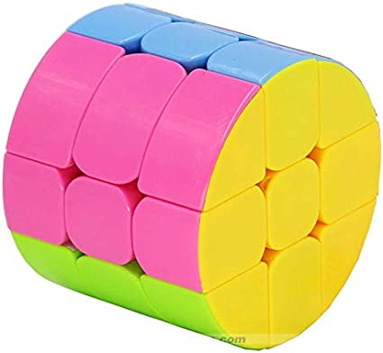 Cubo Mágico 3x3x3 Heshu Redondo Circular - Cubo Store