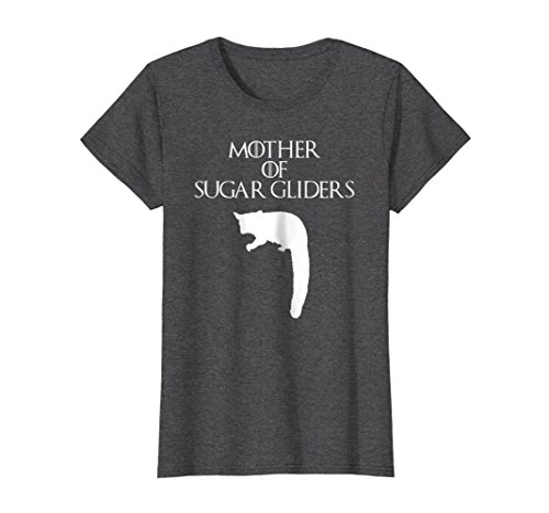 - Womens Mother of Sugar Gliders | Pet Mom T-Shirt & Gift E010520 Large Dark Heather