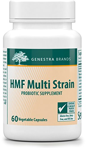 Genestra Brands - HMF Multi Strain 50 - Probiotic Supplement - 30 Capsules by Genestra Brands