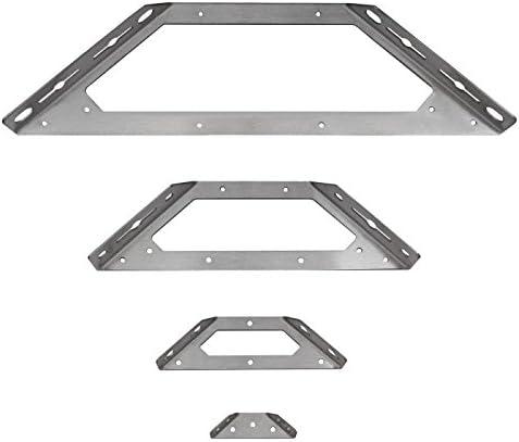 Ángulo de ángulo de acero inoxidable werbinder Conector cama Herraje Eckwinkel Conector Modelo 4
