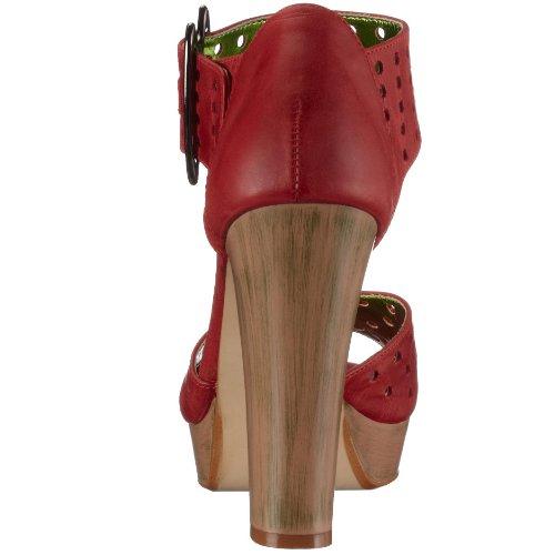 Chinese Laundry Sassyf ras, Damen Sandalen/Fashion-Sandalen Rot