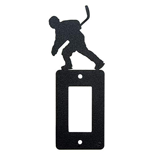 - Hockey Single Gang Rocker (GFCI) Switch Plate Cover