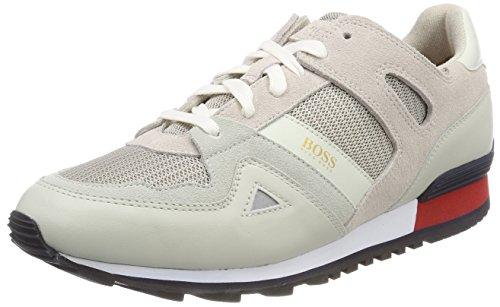 BOSS Casual Herren Verve_Runn_MX Sneaker Grau (Light/Pastel Grey 050)