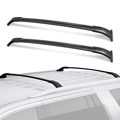 MOSTPLUS Roof Rack Cross Bar Rail for GMC Yukon/Chevy Tahoe/Cadillac Escalade with Side Rails 2015 2016 2017 2018 Cargo Racks Rooftop Luggage Canoe Kayak Carrier Rack