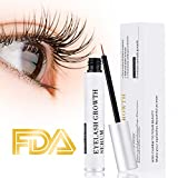 Eyelash Growth Serum Eyebrow Enhancer Serum Professional Eyelash Booster for Naturally Longer, Fuller