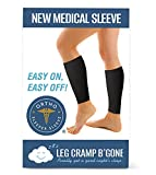 Sleeper SleevesTM Can Stop and Prevent Night Leg Cramps - Easy On, Easy Off