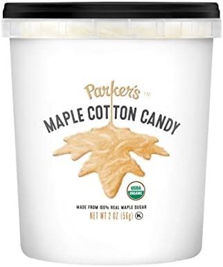 75b1317cf88 Amazon.com   Parker s Maple Organic Maple Cotton Candy