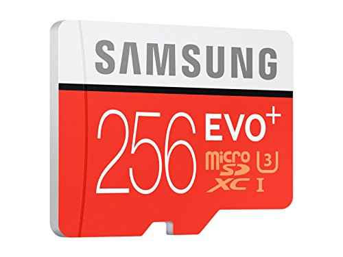 Samsung EVO 256GB UHS I MicroSDXC U3 Memory Card With Adapter MB MC256DAAM