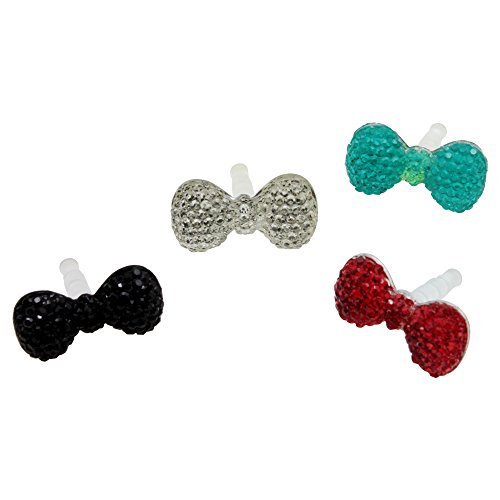 bowknot Silicone Universal Headphone Smartphone product image