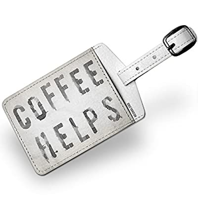 50%OFF Luggage Tag Coffee Helps Coffee Spill - NEONBLOND - shop ... d60165975ea46