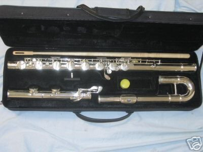 Bass Flute with hard case