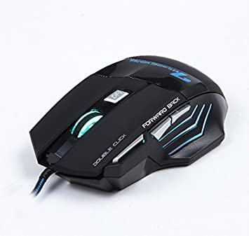 433736d5c63 Klein Design / ESTONE X7 3200 DPI wired gaming mouse 7 buttons color black:  Amazon.co.uk: Computers & Accessories