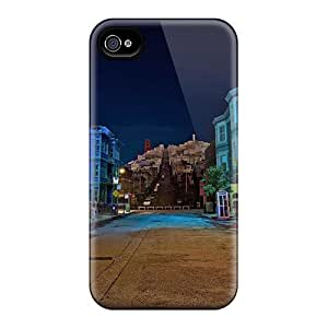 Ultra Slim Fit Hard Randolphfashion2010 Cases Covers Specially Made For Iphone 6plus- Festival Of Lights Night