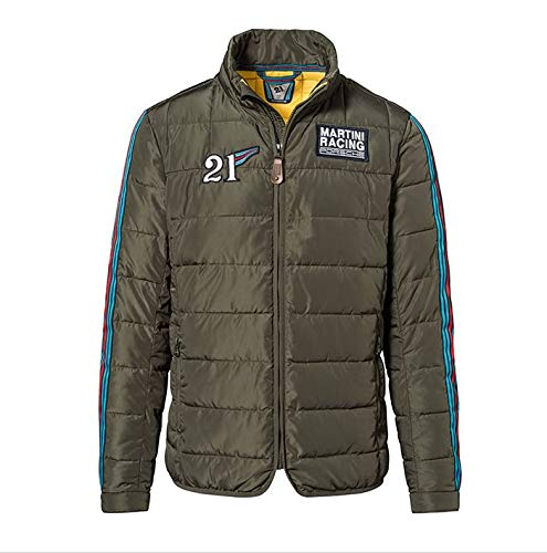 Porsche Genuine 917 Martini Racing Mens Quilted Jacket - Men's ()