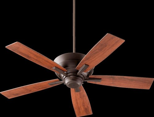 Quorum International 94525 86 Fan With Shades  Oiled Bronze