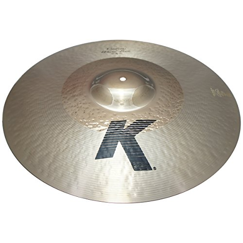 """Zildjian 20"""" K Custom Series Hybrid Ride Medium Drumset Cast Bronze Cymbal with Mid Sound and Large Bell Size K0998 - Lightly Used"""