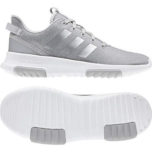adidas Kids CF Racer TR Running Shoe, Grey/Silver Metallic/White, 12.5K M US Little Kid by adidas (Image #2)