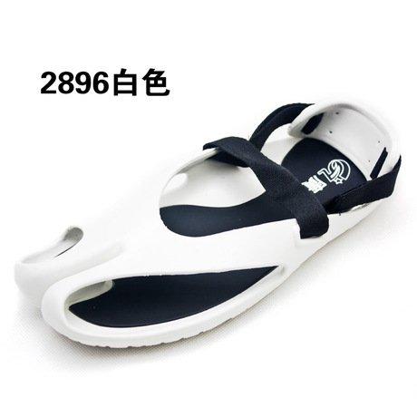 Xing Lin Sandalias De Cuero Un Par De Hombres Zapatillas Marea Cool Zapatillas Para Hombres Sandalias Zapatos Sandalias De Playa De La Marca De Marea Marea Macho ,38, Blanco