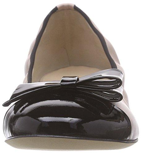Powder Rosa schwarz Foulard Ballerine Kaiserines Vit Donna Chiuse Peter 652 FwI0qF