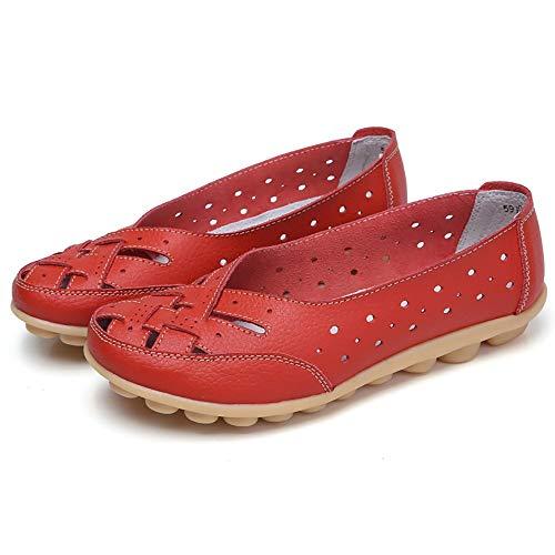 Bottines Pour Chaussures Des Sandales Slipper Décontractées Douces Femmes Rouge 6qfrT6