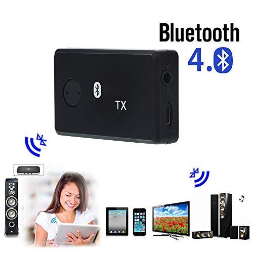 ( Euone  Valentine Clearance Sale , Wireless BT4.1 Audio Transmitter Splitter Receiver Multi-point Music Adapter)
