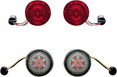 Custom Dynamics ProBEAM BCM Compliant Turn Signal Conversion Kit (1157 Rear, 1157 Front) For Harley Davidson