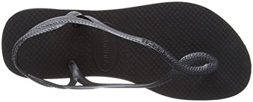 Havaianas Sandals Women Luna Black (Black 0090) Cp29QZToUx
