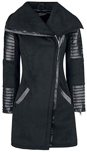 Galina Abrigo Mujer Abrigo Negro Rockabella Negro pwAxHCqC5