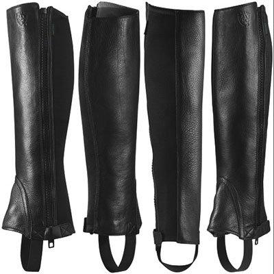 ARIAT Unisex Breeze Cool Comfort Half Chaps XS - Grain Chaps Leather Half