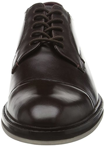 Ted Baker Aokii, Scarpe Stringate Uomo Marrone (Brown Leather)