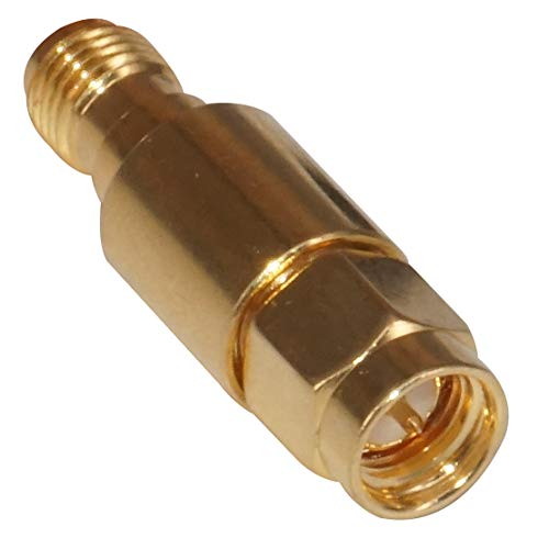 LETAOSK DC-6GHz 50ohms SMA Male to Female DC Block RF Coaxial Connector