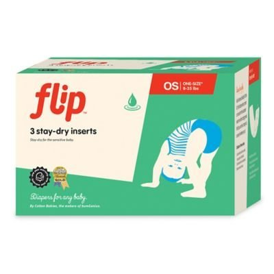 Flip 3-count Stay-dry Diaper Inserts by Flip