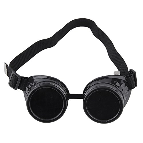 Vintage Steampunk Welding Goggles Goth Cosplay for Party Decoration 50mm Eye Cup (Steampunk Party)