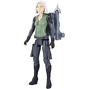41jj52SnW8L. SS300 HTDZDX Black Widow Toy Model, Avengers Children's Toy Black Widow Action Figure 10 Inches /26 cm Action Character…
