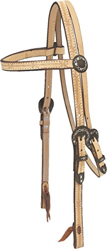 Headstall Barbed Wire (Billy Cook Saddlery Barbed Wire Browband Headstall)