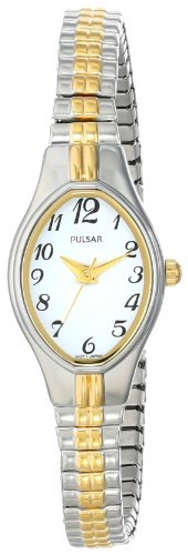 Two Tone Pulsar Fashion Watch - Pulsar Women's PC3272 Analog Display Japanese Quartz Two Tone Watch
