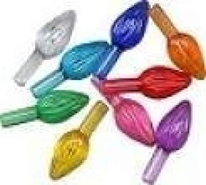 Amazon.com: Ceramic Christmas tree plastic light up twist/bulbs medium  assorted colors replacement tree bulbs for a ceramic tree: Home Improvement - Amazon.com: Ceramic Christmas Tree Plastic Light Up Twist/bulbs