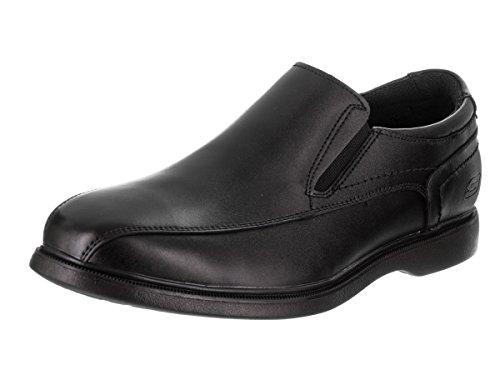 Skechers Herren Relaxed Fit Revelst Stanven Loafer Schwarz