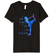 Just A Girl Who Loves Ice Skating - Ice Skater Shirt