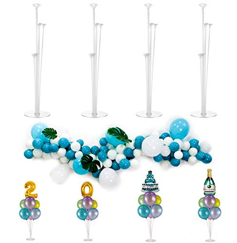 4 Pack Balloon Stands