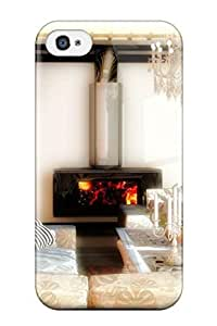 Hot Hone Interiors First Grade Tpu Phone Case For Iphone 4/4s Case Cover